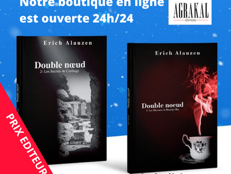 Les Editions AGRAKAL inaugurent leur nouvelle boutique en ligne