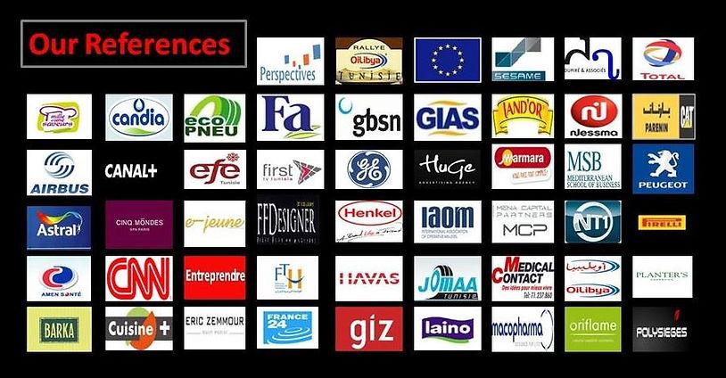Les références de EA Pro Nantes sont internationales et couvrent de nombreux secteurs d'activité.