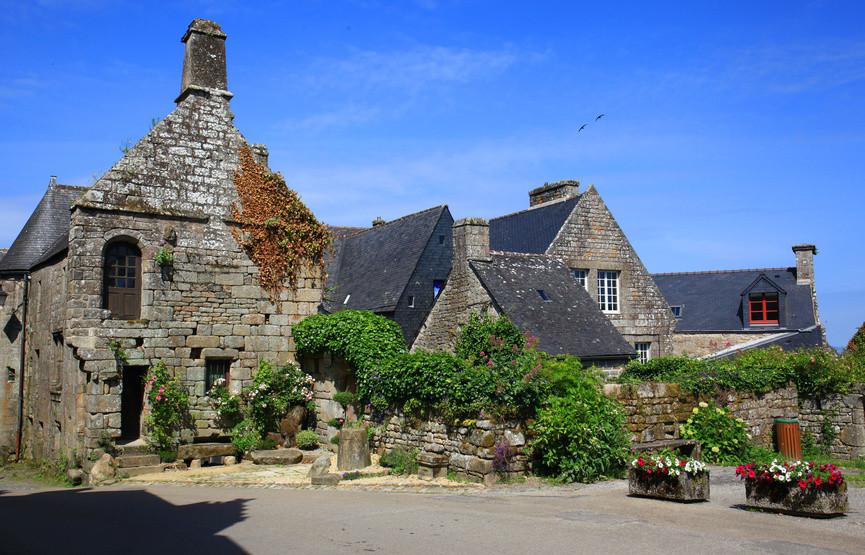 Locronan, un charmant village breton dans le Finistère