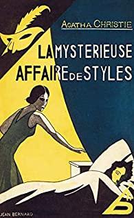 La Mystérieuse Affaire de Styles, le premier roman d'Agatha Christie