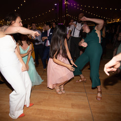 Wedding Driftwood TX March 2019 Bride Dancing