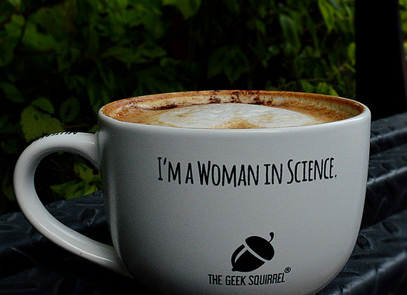 "Bowl The Geek Squirrel® ""Women in Science"""