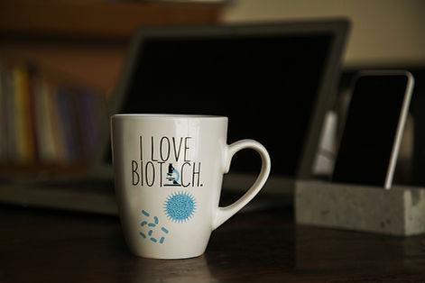 I love biotech the geek squirrel coffee mug premium