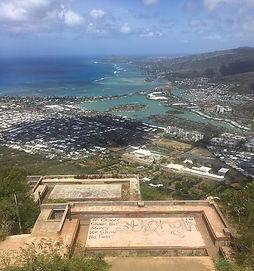 先ほどハワイから写真が届きました📷 _ハワイスタッフがまたココヘッドに_登った