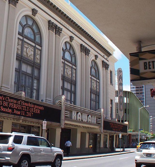 チャイナタウンにあるハワイシアター。