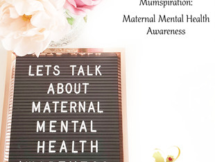 Maternal Mental Health Awareness