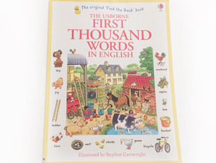 The Usborne FIRST THOUSAND WORDS In English By Heather Amery