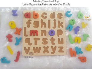 Letter Recognition Using An Alphabet Puzzle