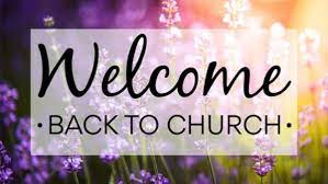 NEW! Opening Up Church Again