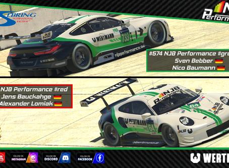 3.Lauf Densu Endurance Championship - Sebring
