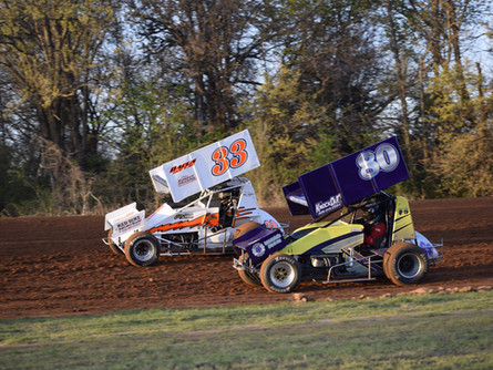 Sooner Sprint Series, USAC WSO sprints highlight Saturday, April 24 show