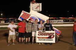 Sooner Sprint winner Danny Wood