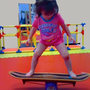 I learned to balance!