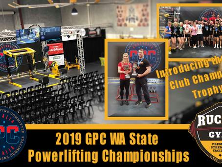 2019 GPC WA State Powerlifting Championships