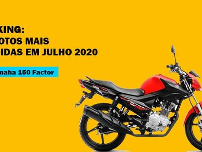 [Preço do seguro] As 10 motos mais vendidas no Brasil Julho 2020