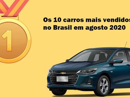 Quanto custa o seguro dos 10 carros mais vendidos no Brasil [Agosto 2020]