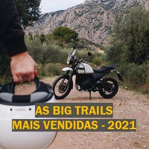 [2021] Quanto custa o seguro das Big Trail mais vendidas no Brasil