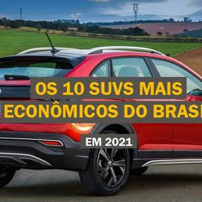 Quanto custa o seguro dos 10 SUVs mais econômicos do Brasil (2021)