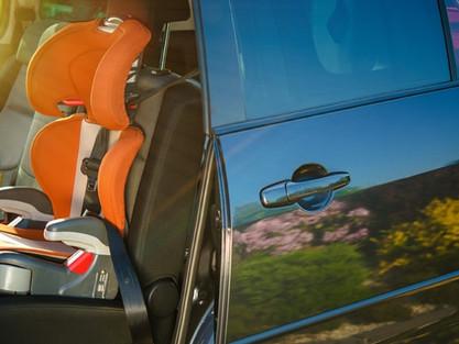 Novas regras da cadeirinha de criança no banco de veículos