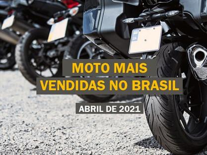 [Abril 2021] Quanto custa o seguro das motos mais vendidas no Brasil