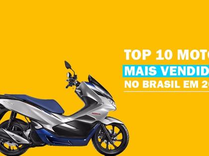 Top 10 motos mais vendidas no Brasil em 2019 + preço de seguro