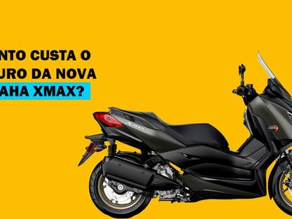 Quanto custa o seguro da nova Yamaha XMax?