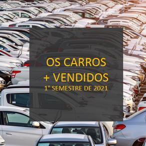 (1° semestre 2021) Quanto custa o seguro dos carros mais vendidos no Brasil