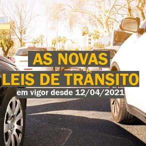 Confira as novas Leis de Trânsito para 2021 que já estão valendo