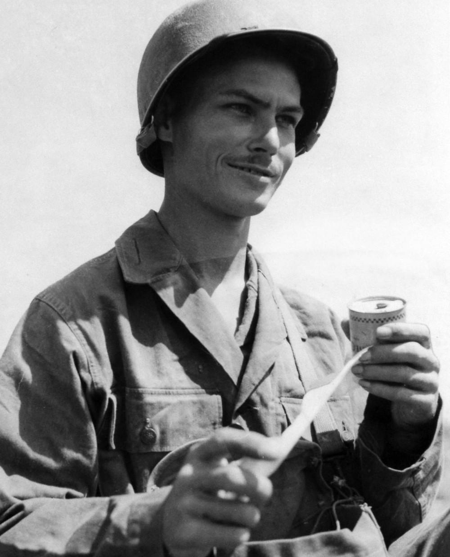 Private Desmond Doss, 1945