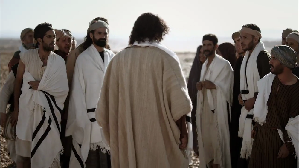 Jesus is rejected at Nazareth after his teaching on God's mercy for their enemies