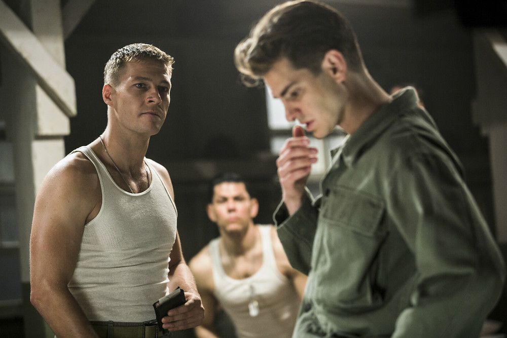 Doss faces strong opposition from his comrades in 'Hacksaw Ridge'