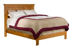 Alder Shaker Bed