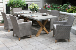 TNA2222-DRIFTWOOD-GREY-Wicker-Teak-Dining-Chair-with-Sunbrella-Cushion-2pk.-shown-with-TNA7936-Compo