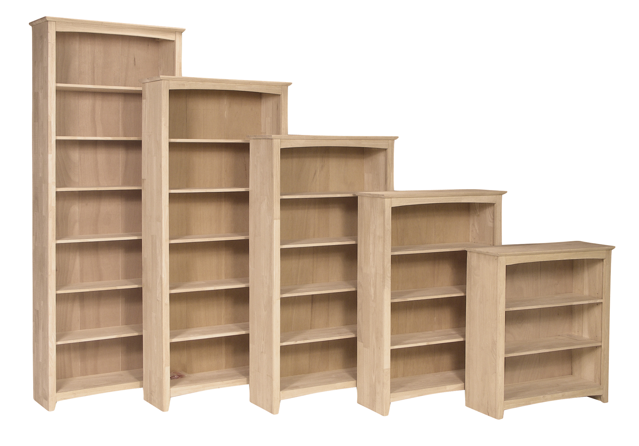 Parawood Bookcases SH-3223A_SH-3228A