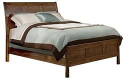 Alder Sleigh Bed