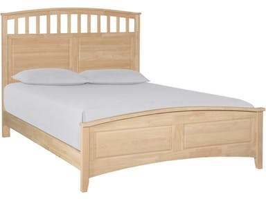 Lancaster Mission Curved Bed