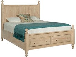 Cottage Storage Bed