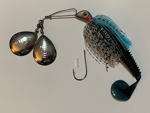 Side 'B' Side Spinnerbait - Mystic Blu