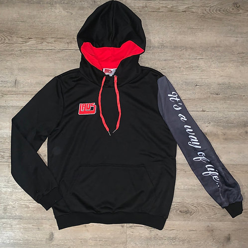 LADS hoodie Black