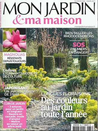 Article Mon jardin & ma maison