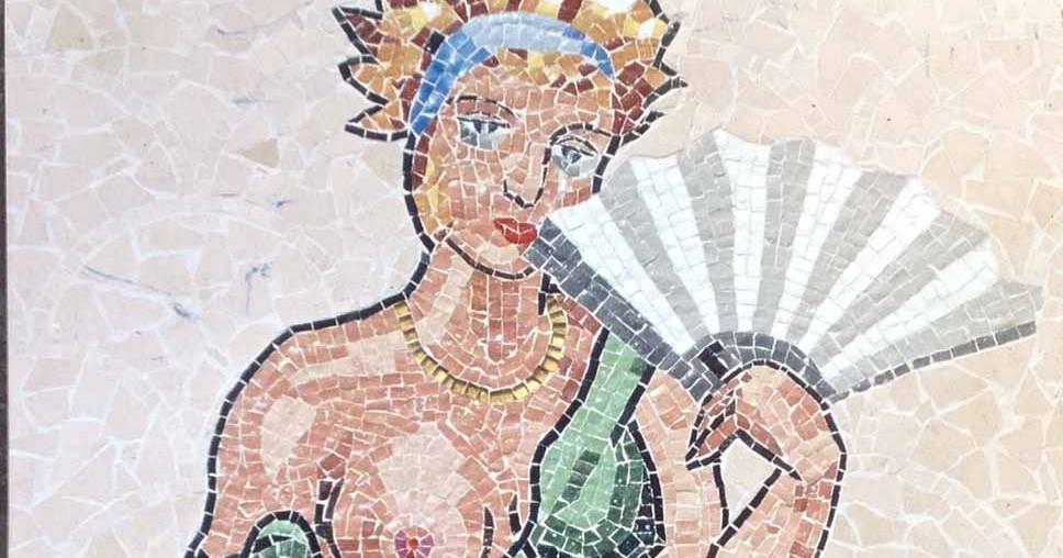 fresque murale david dalichoux mosaique