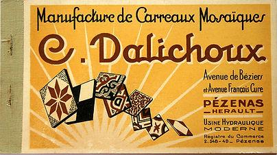Manufacture Clovis Dalichoux à Pezenas