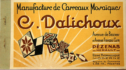 Album de la Manufacture Clovis Dalichoux - 1932