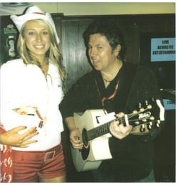 Jon+with+Jim+Beam+Girl+...