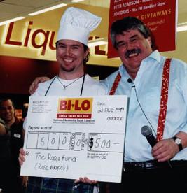 Celebrity Chef & Iain Hewittson