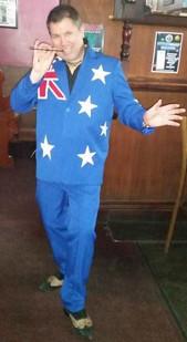 Australia Day Suit