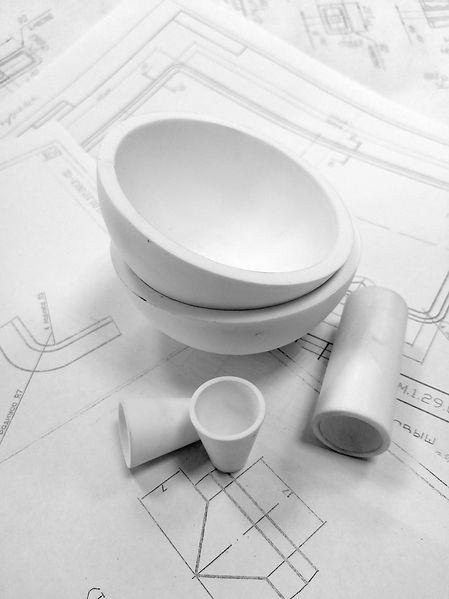 Техническая керамика | Нанокерамика г. Томск |  Тигли