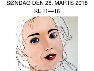SØNDAGSÅBENT I GALLERI ART2JOY