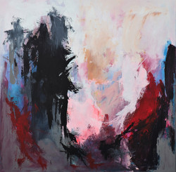 Longing for change str 100 x 100 cm
