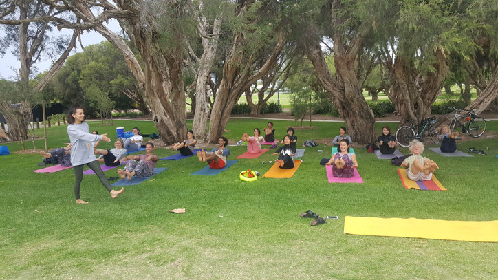 Yoga in the Park (South Perth)